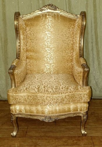 ARMCHAIR - BAROQUE STYLE GLAMOUR ARMCHAIR GOLD # AS13